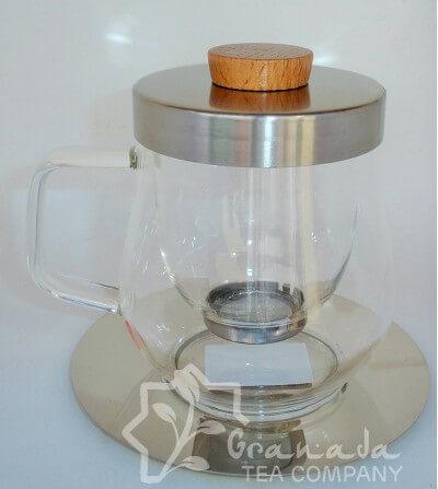 Mug - Tetera Cristal con Filtro de cristal 450 ml.