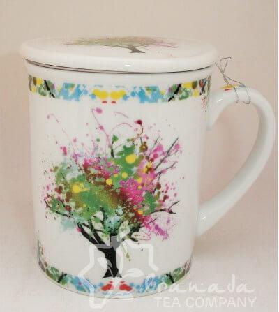 mug con filtro árbol de colores