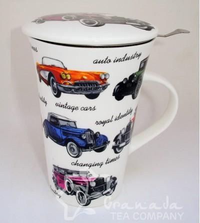 Mug con filtro coches