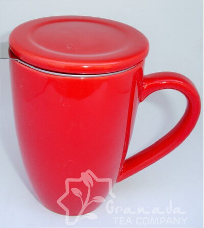 mug con filtro roja