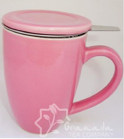 Mug con Filtro Rosa