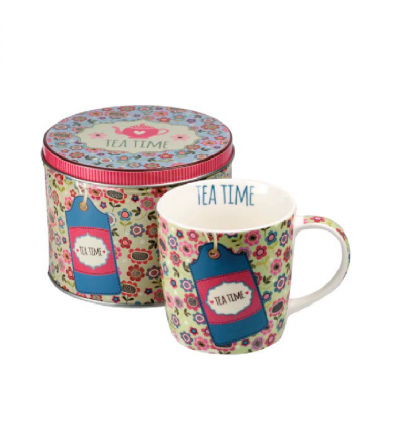 Mug Tea Time Lime 300 ml.