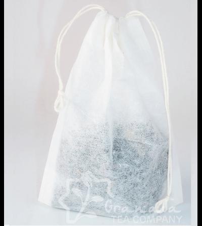filtro papel bolsa con cierre de hilos