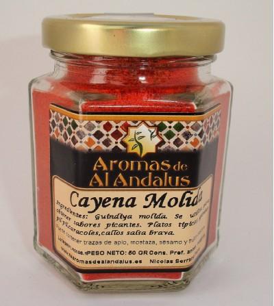 Cayena Molida Bote 45gr.