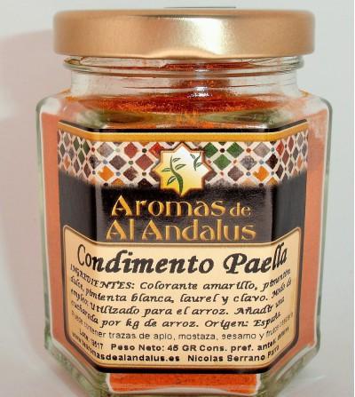 Condimento de Paella Bote 45gr.