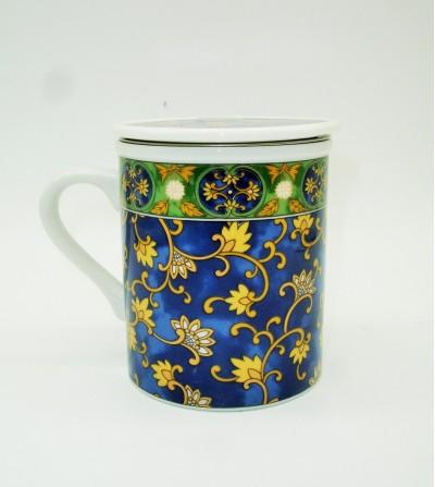 Mug de Porcelana Al Andalus Azul
