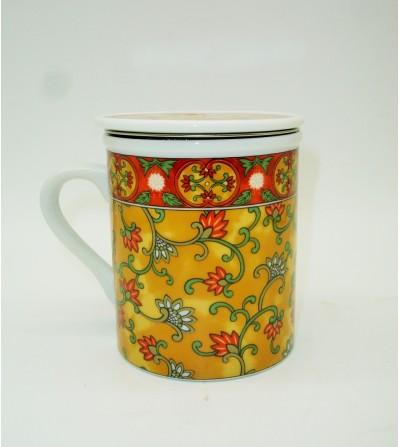 Mug de Porcelana Al Andalus Naranja