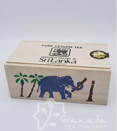 TE NEGRO CEYLAN BOP ELEPHANT-CAJITAS DE 250GR