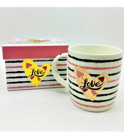 Mug en Caja de Regalo Love, 0.32l.