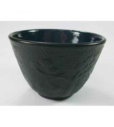 Vaso para Té de Hierro Color Negro